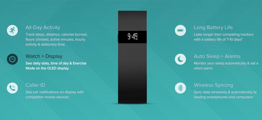 Best Fitbit 2016 Charge S Ecs