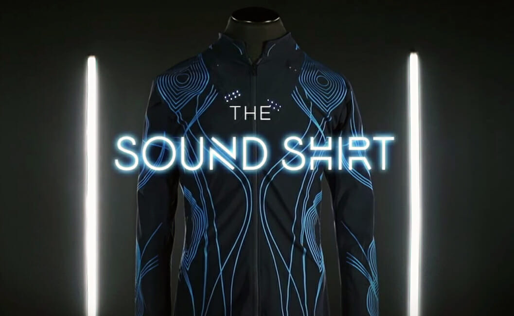 Sound Shirt - Wearable Tech Helps Deaf People Feel The Music
