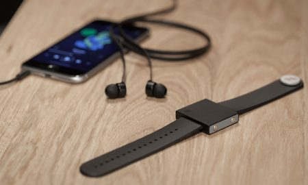 Basslet - A Wearable Subwoofer That Helps You Feel The Beat
