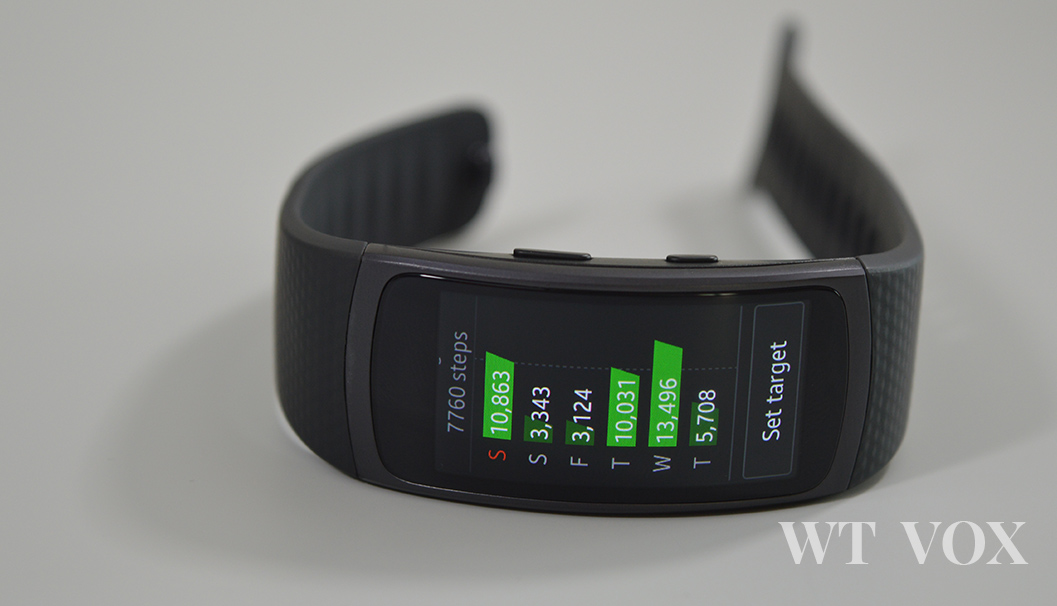 samsung gear fit2 detailed fitness tracking