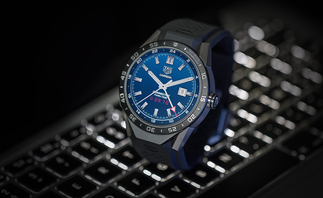 1. Best Android Wear Watch - Tag Heuer Connected