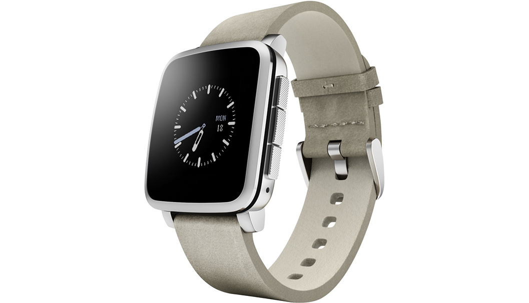 pebble time silver