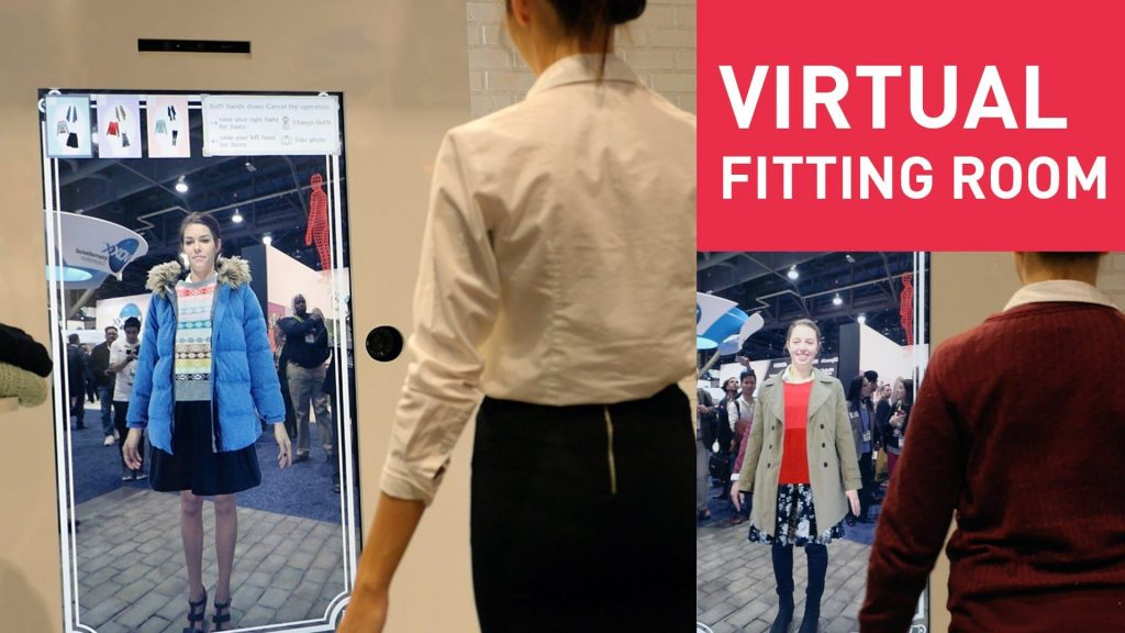 Fashion Retail - Smart Fitting Rooms Powered by AR/VR are the future