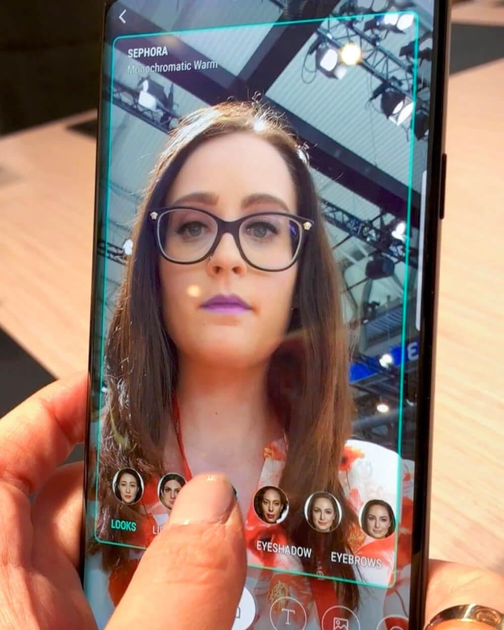 Sephora VR makeup ModiFace app