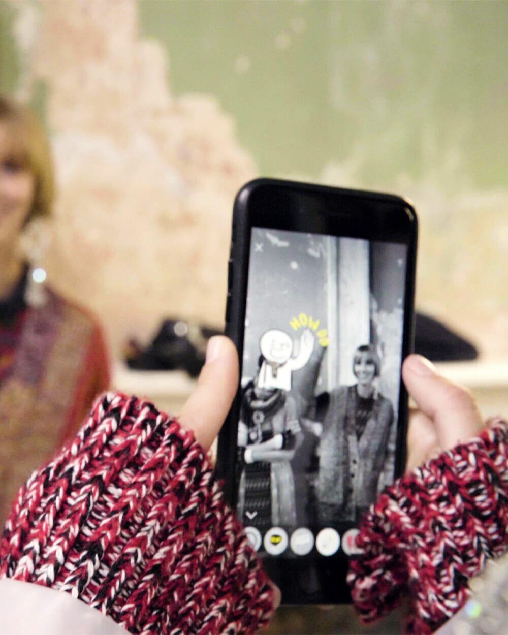 BURBERRY 'ARKit' VR app