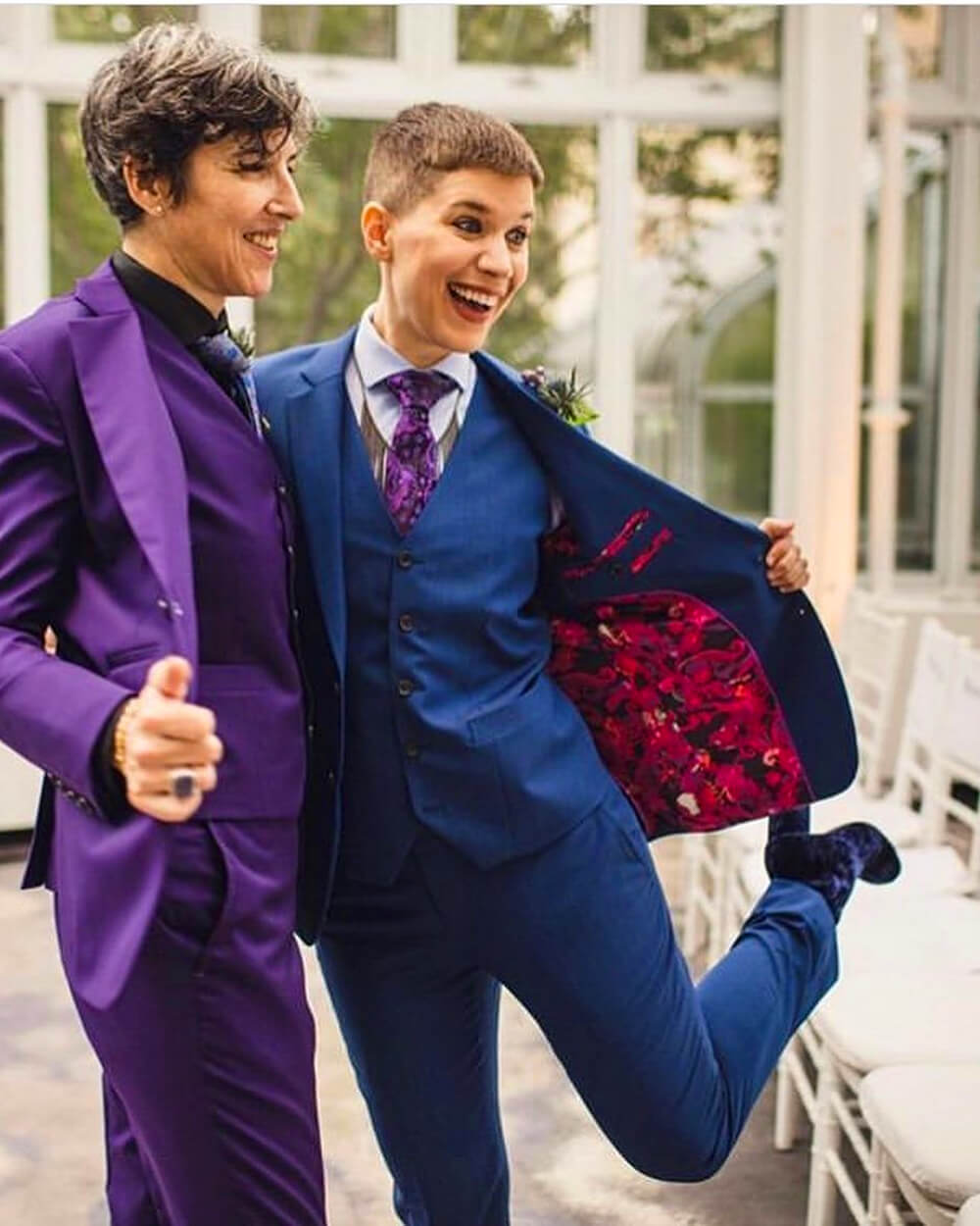 Bindle & Keep gender fluid bespoke suit