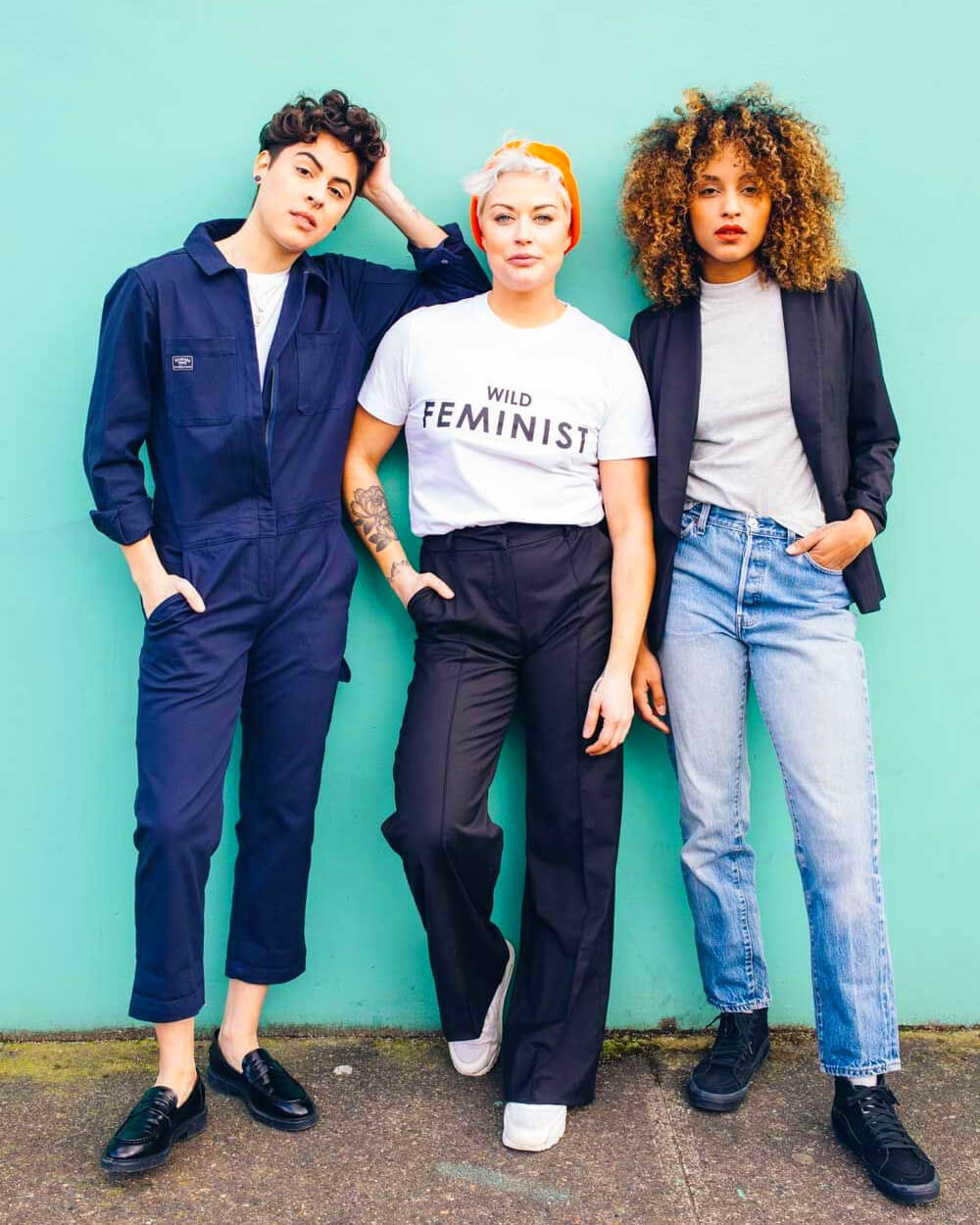 Wildfang gender fluid clothing collections