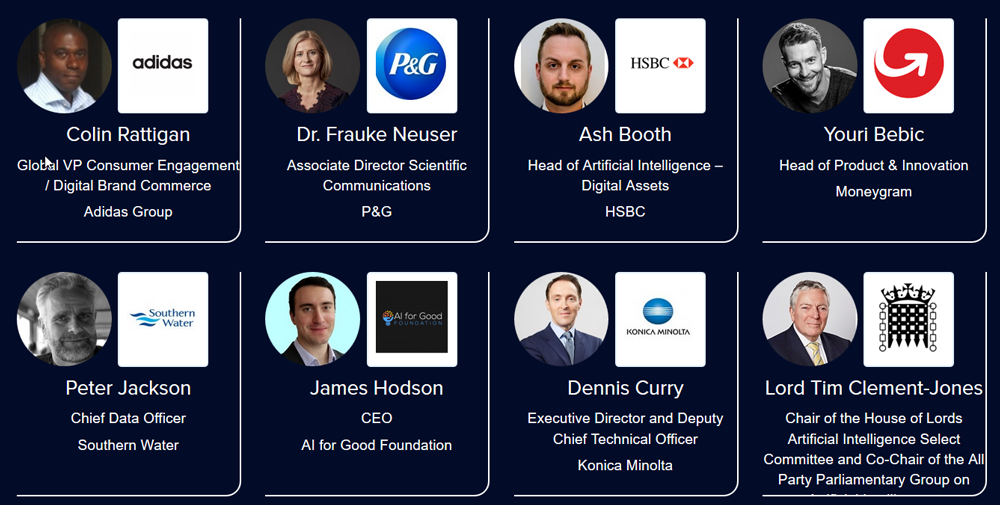 AI Expo Global 2018 the 1st lineup of speakers