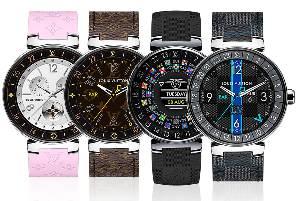 Luxury Smartwatches: Louis Vuitton - Tambour Horizon