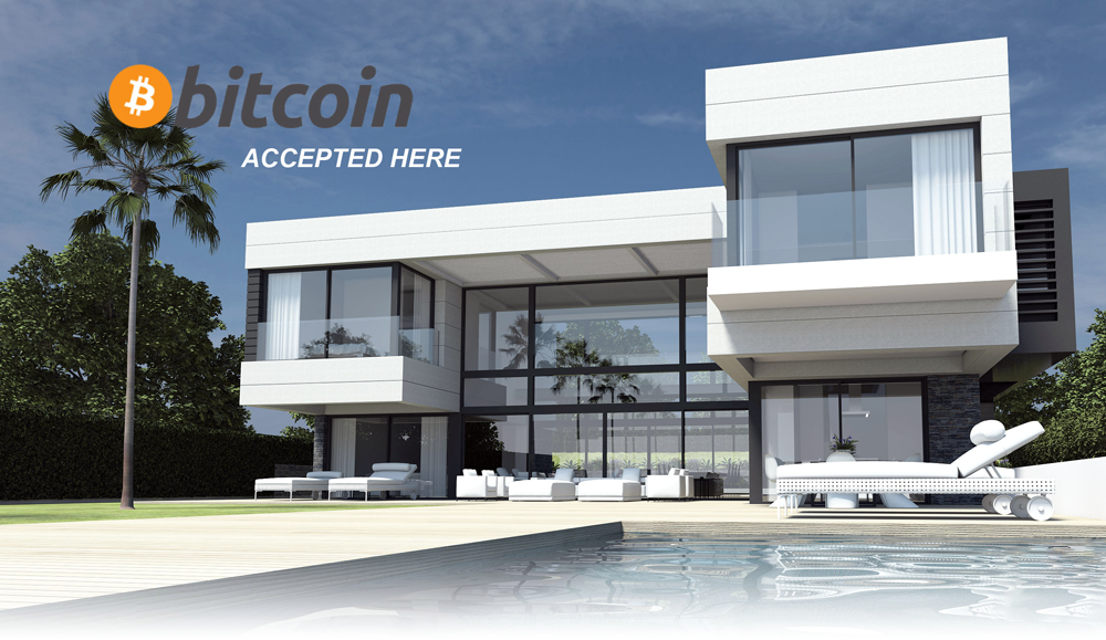 bitcoin in luxury holiday home bought with bitcoins only