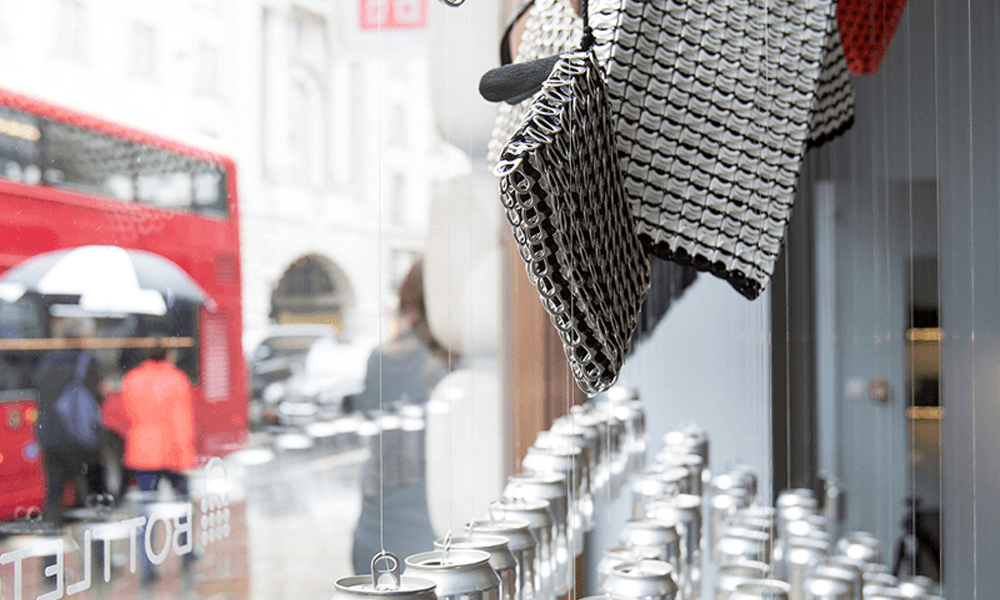 bottlepop store in London for sustainable fashion