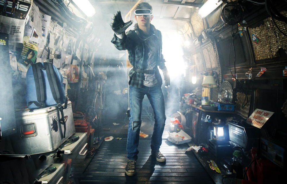 Fashion For Digital Self - Glimpse Into The Future screen from Player One Ready movie 2018