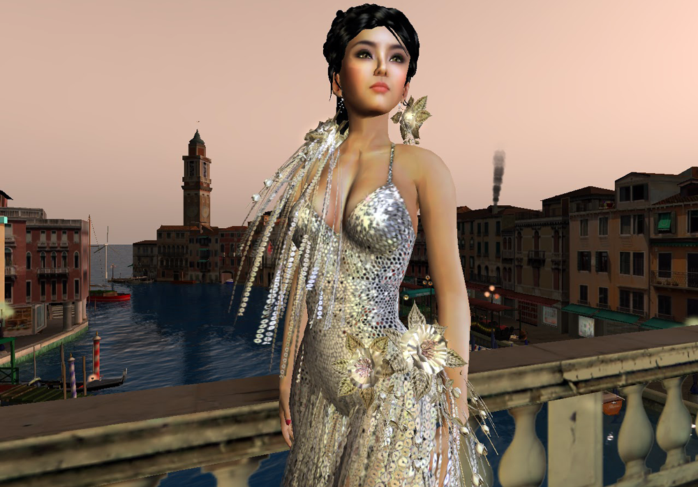 Fashion-For-Digital-Self---virtual-fashion-garments---woman-on-a-bridge