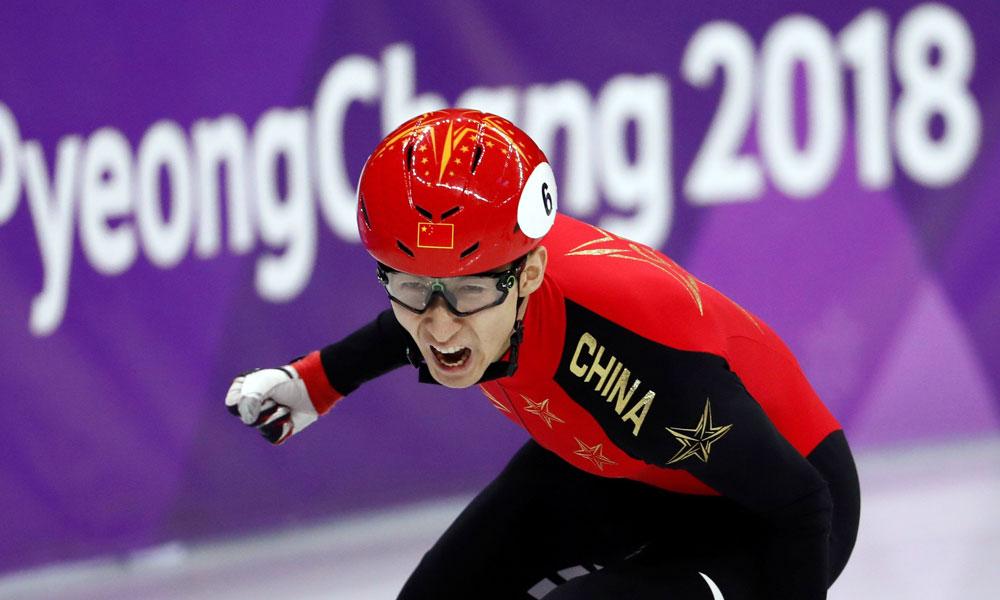 2022 Beijing Winter Olympics - chinese skater