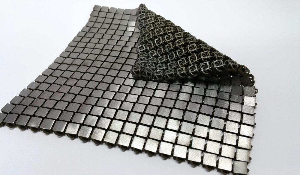 Wrinkle-Free Textile - material metallic textile