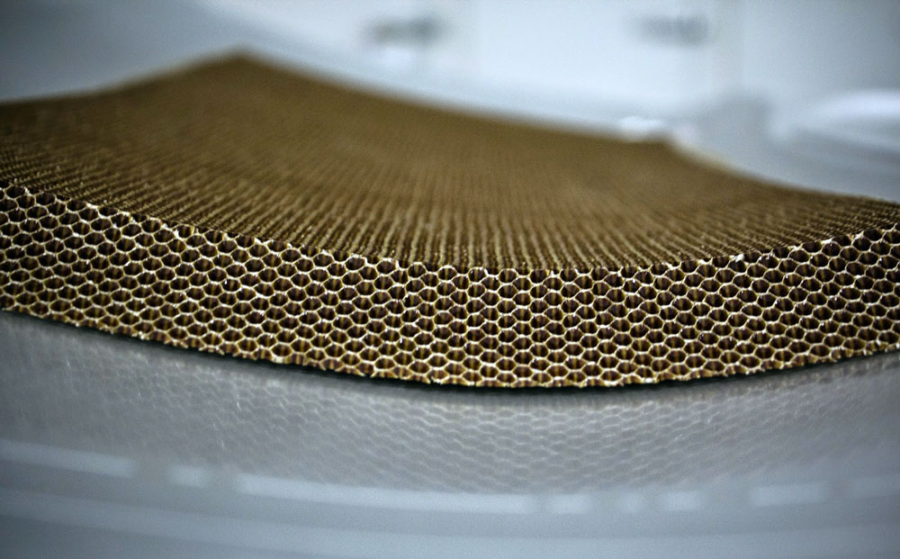 Wrinkle-Free Textile - comb material