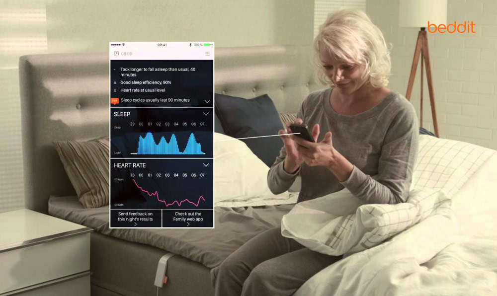 Beddit sleep tracker will monitor your sleep - without any disturbing wearable sensors