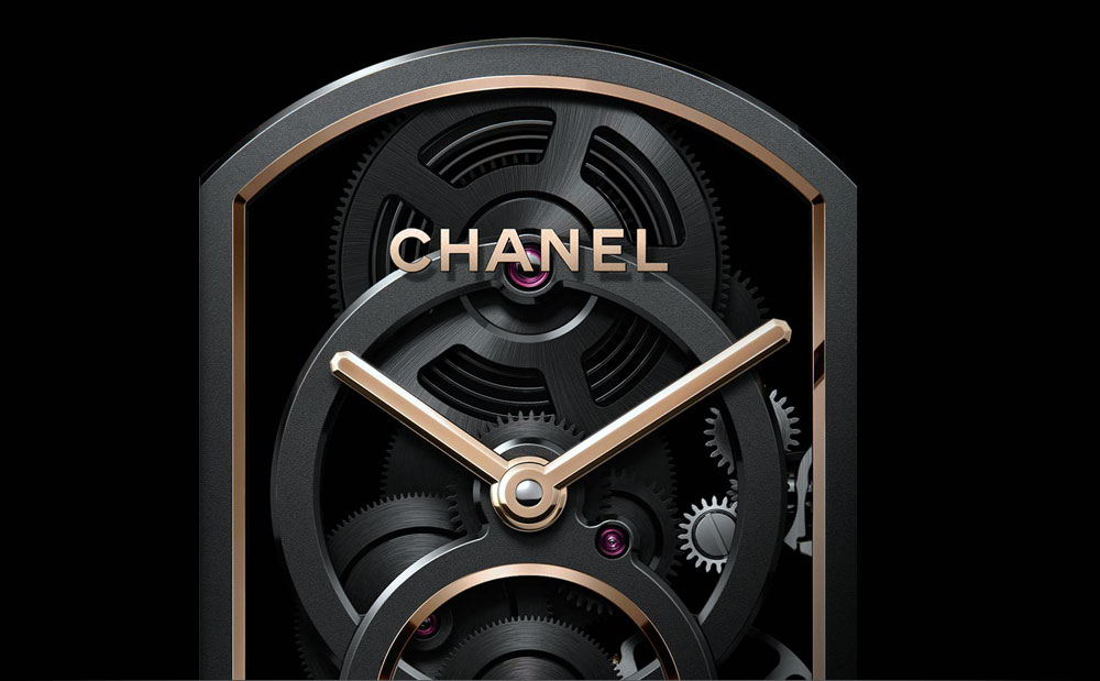 Chanel Calibre 4 Watch - movement of chanel calibre 3