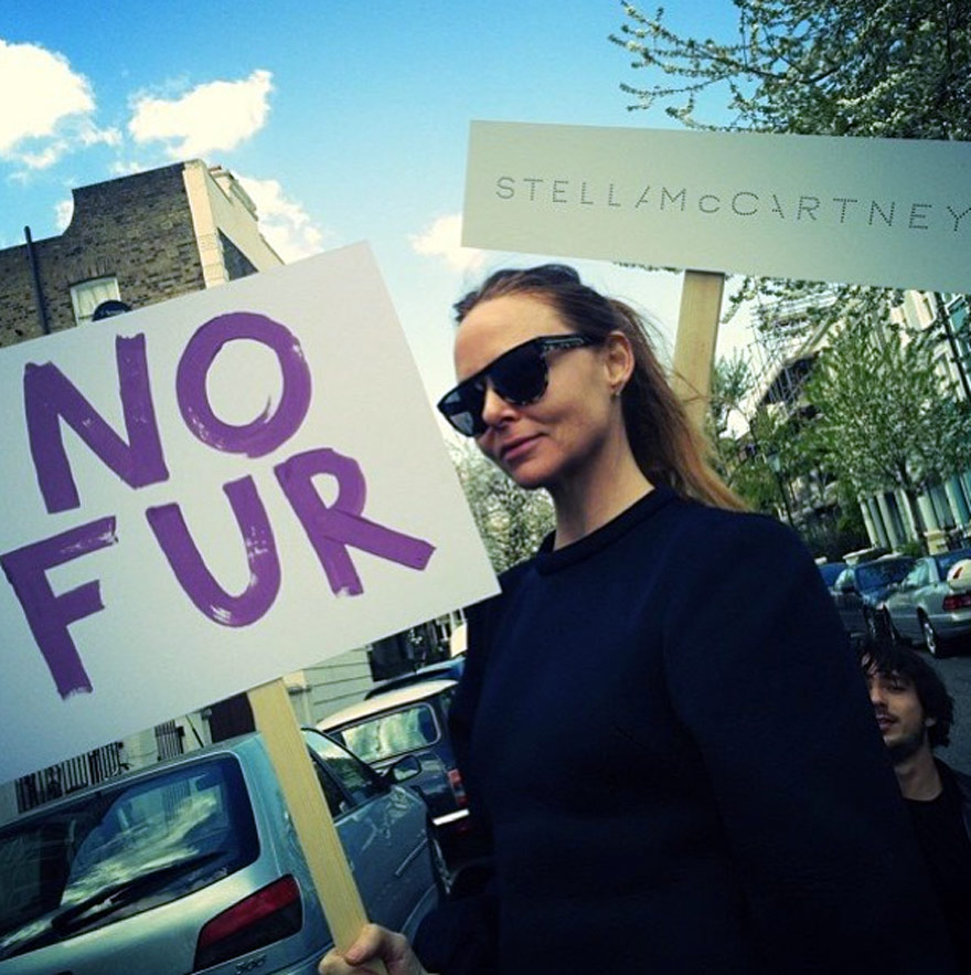 Fashion Innovation Alters Leather Production And Consumption - stella mccartney says no fur