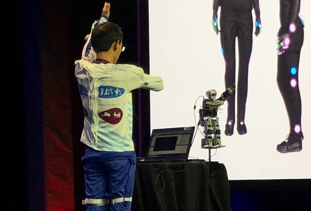 Latest Innovations in Wearable Technology - HoloSuit Full Body Motion Capture Suit uses haptic feedback that will let you enter the virtual world