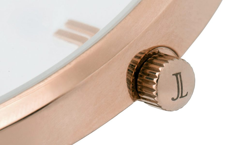innovative fashion startup - James Lucy ethical gold rose watch