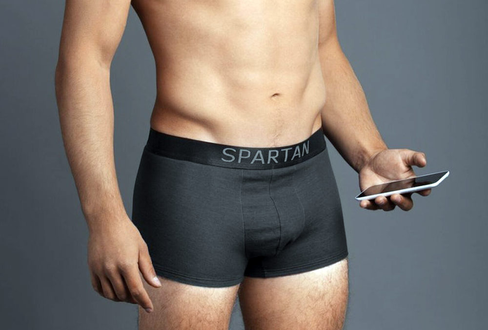 Latest Innovations in Wearable Technology - Spartan Shorts are stylish radiation-blocking boxer briefs that protect your health and fertility from mobile and wifi radiation