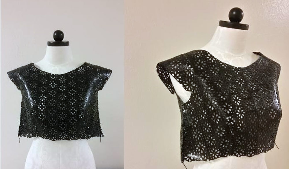New Path Towards 3D Printed Fashion - a 3d printed garment for designing a top for women