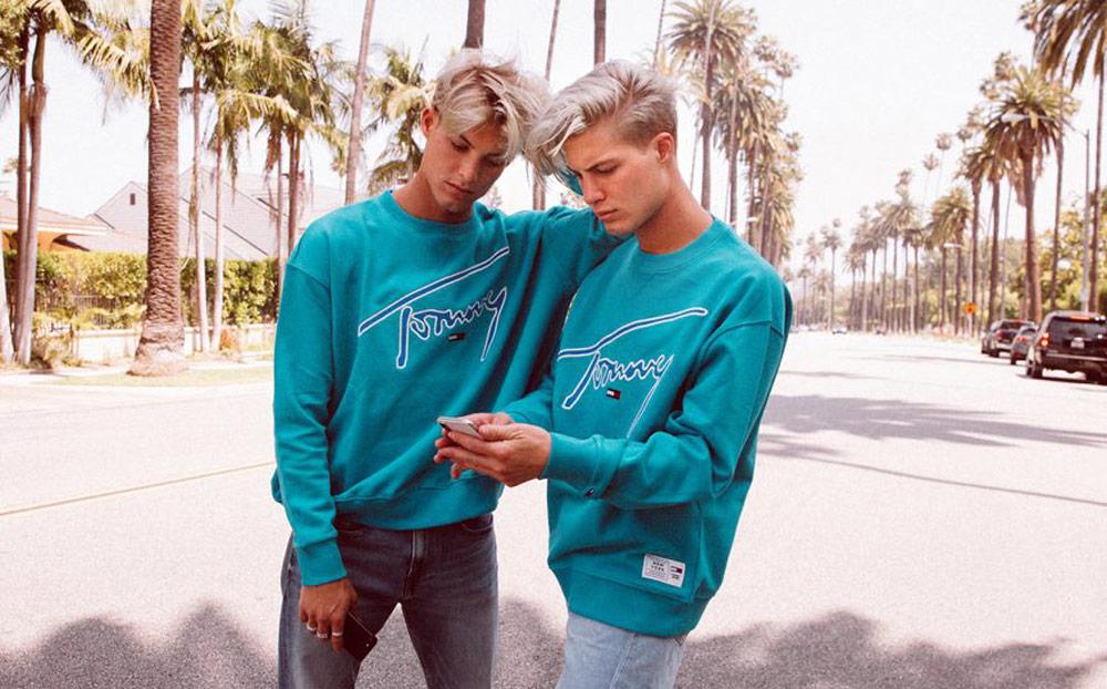 Tommy Jeans Xplore sweatshirt