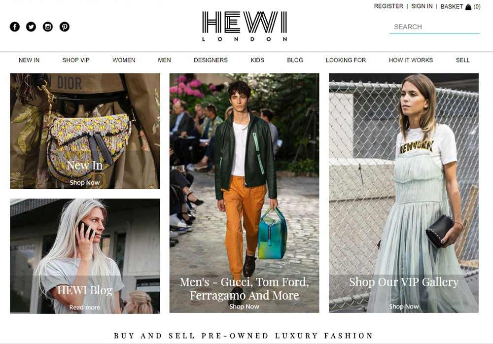 Second Hand Clothes - HEWI London