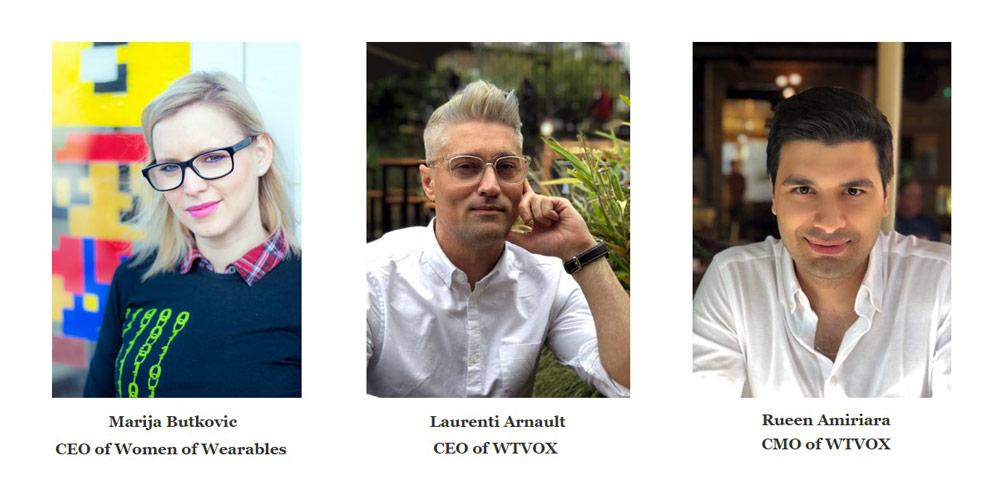 WTVOX and WoW Strategic Partnership - Marija Butkovic, Laurenti Arnault, and Rueen Amiriara