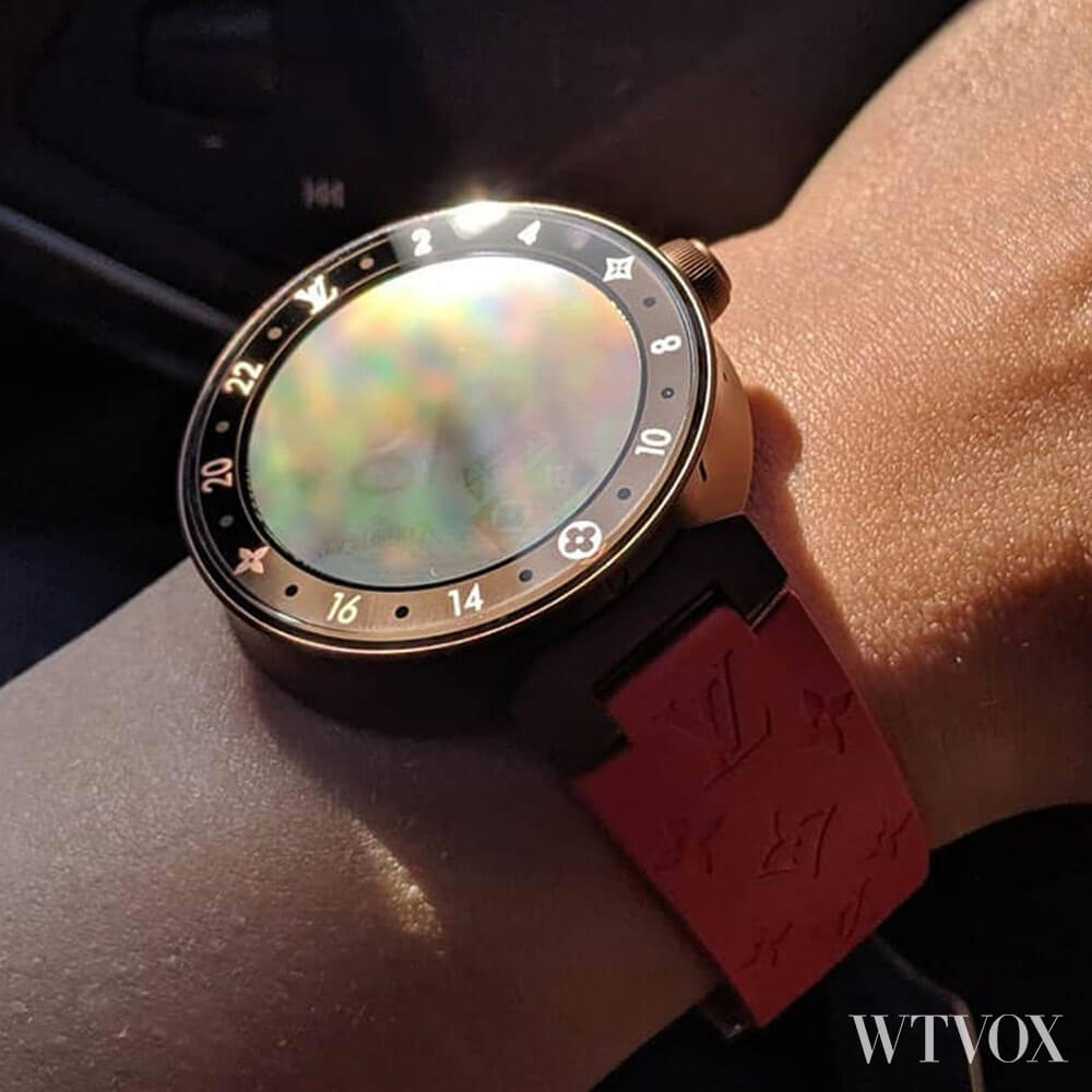 LV Tambour Horizon Monogram Eclipse Limited Edition