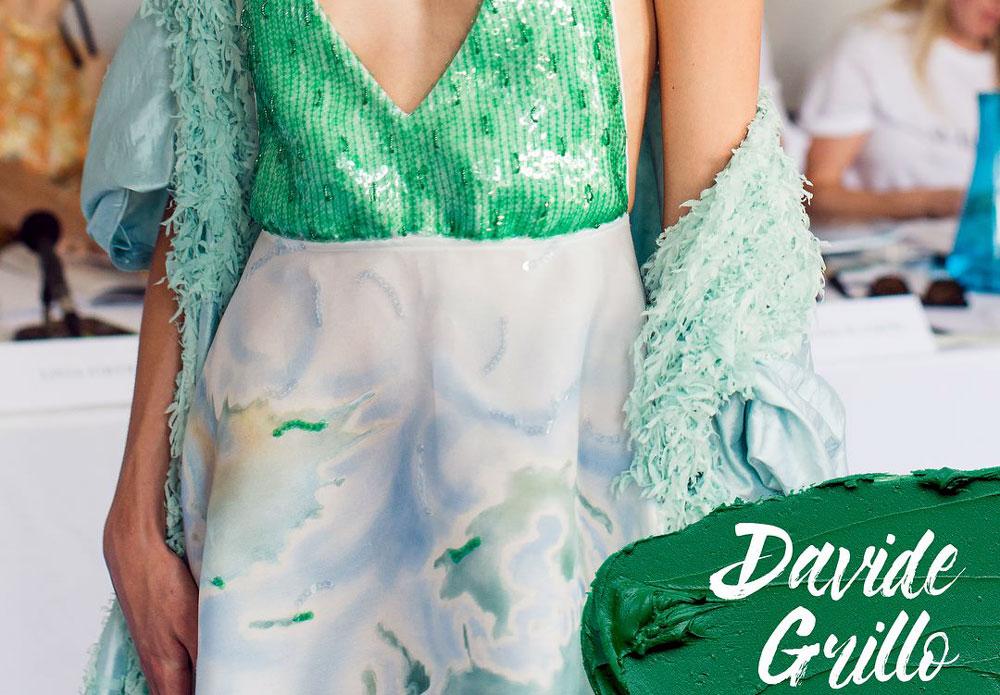 Green Carpet Challenge 2018 - davide grillo fashion