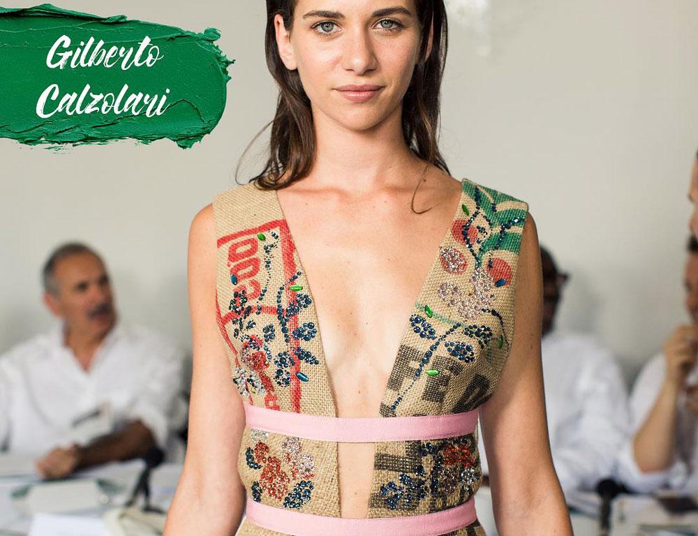 Green Carpet Challenge 2018 - gilberto calzolari fashion