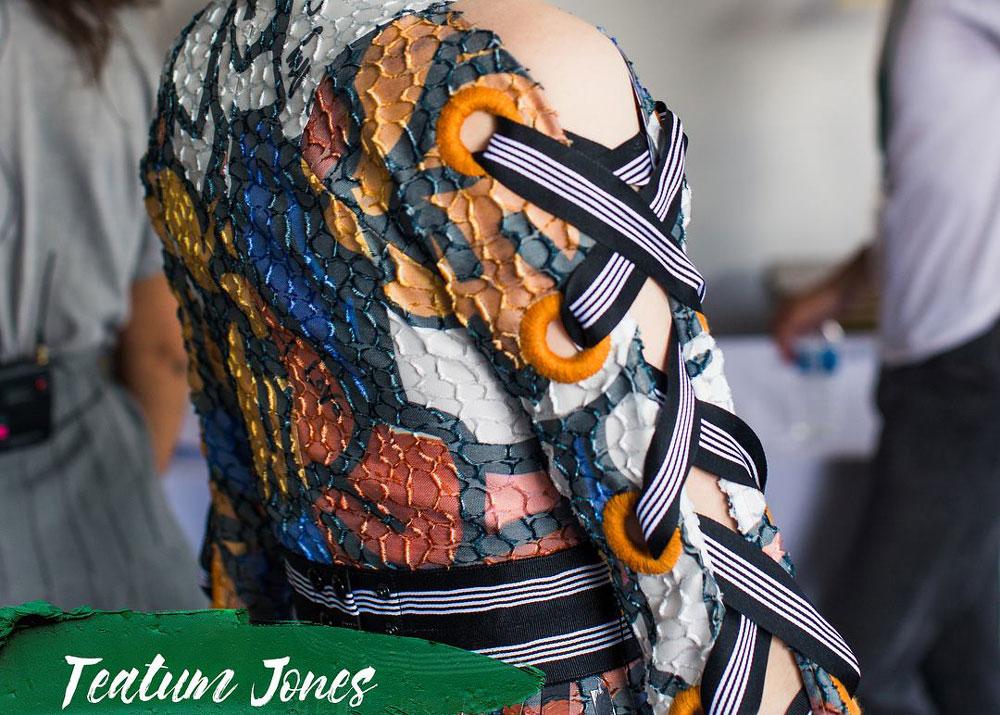 Green Carpet Challenge 2018 - teatum jones fashion