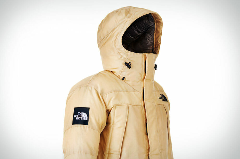Top 5 Fashion Tech Outdoor Clothing - Moon Parka By North Face made from spider silk