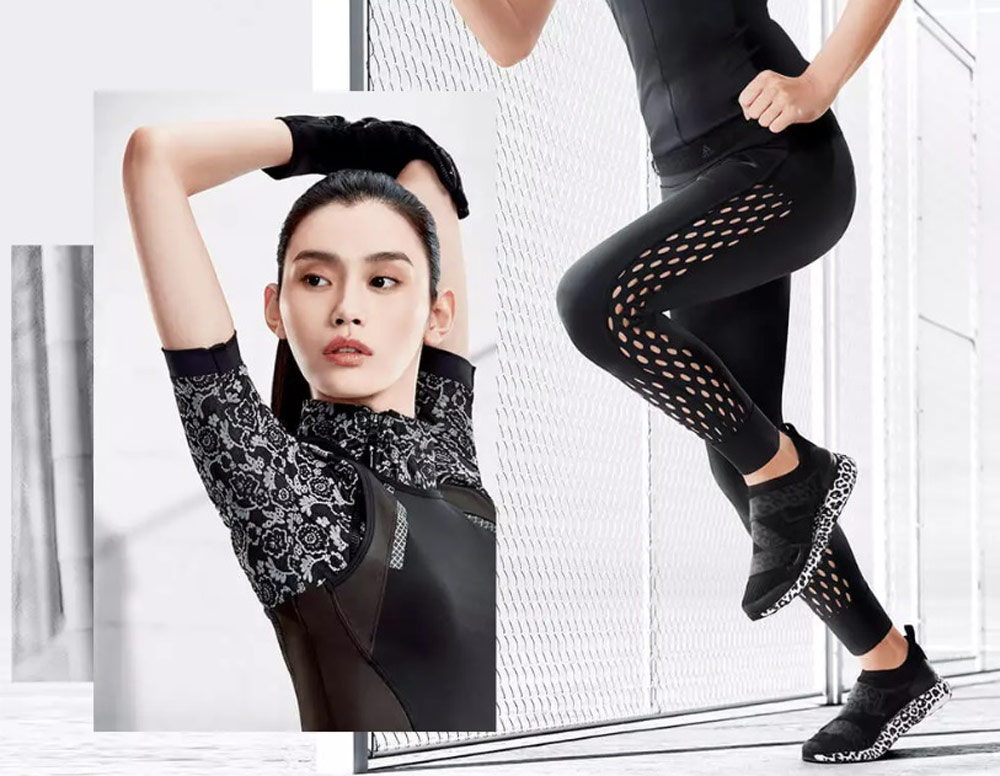Adidas By Stella McCartney Fall/Winter2018 Collection with Ming Xi