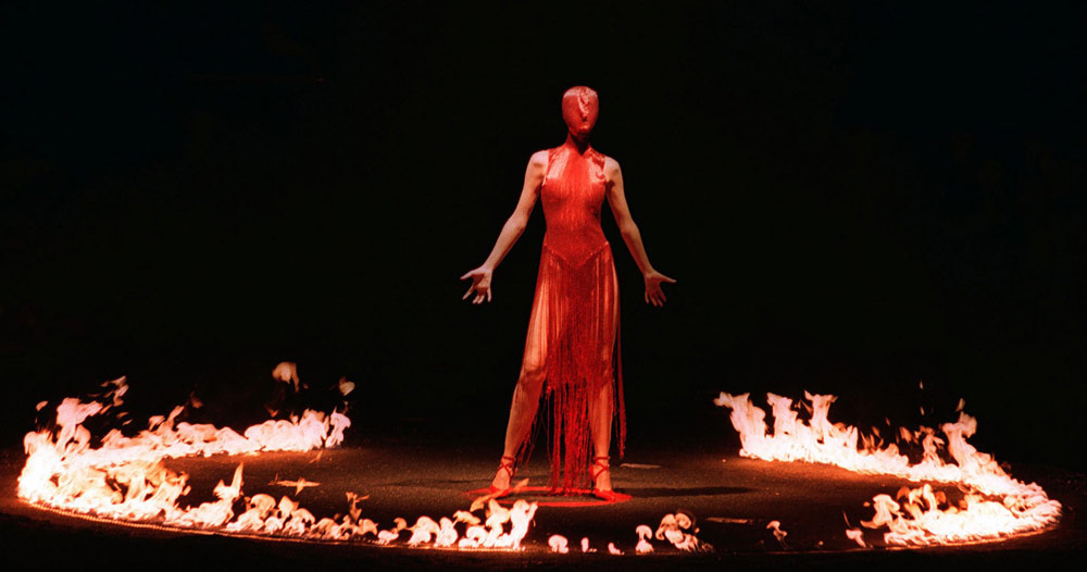 Mega Fashion Shows - fire and blood fashion show