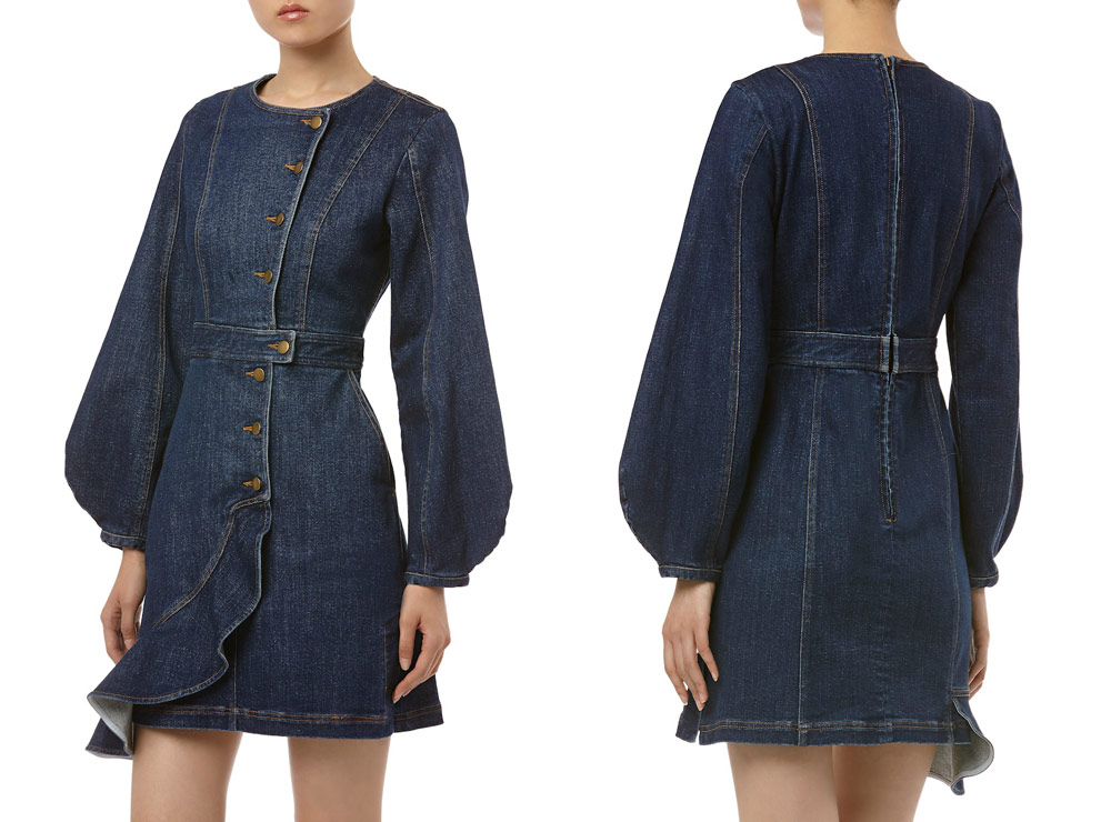 sustainable clothing collection for autumn - Amur jean dress