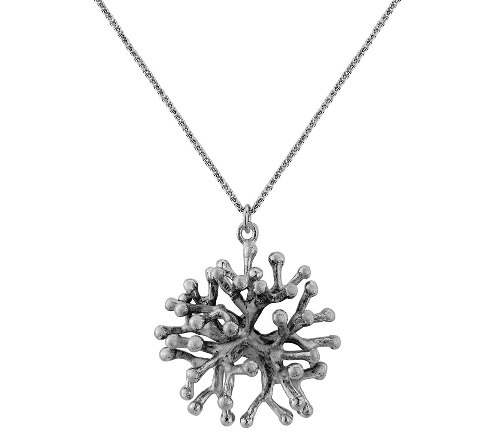 E-waste Jewellery by Lylie's - The Larger Leta Coral Pendant