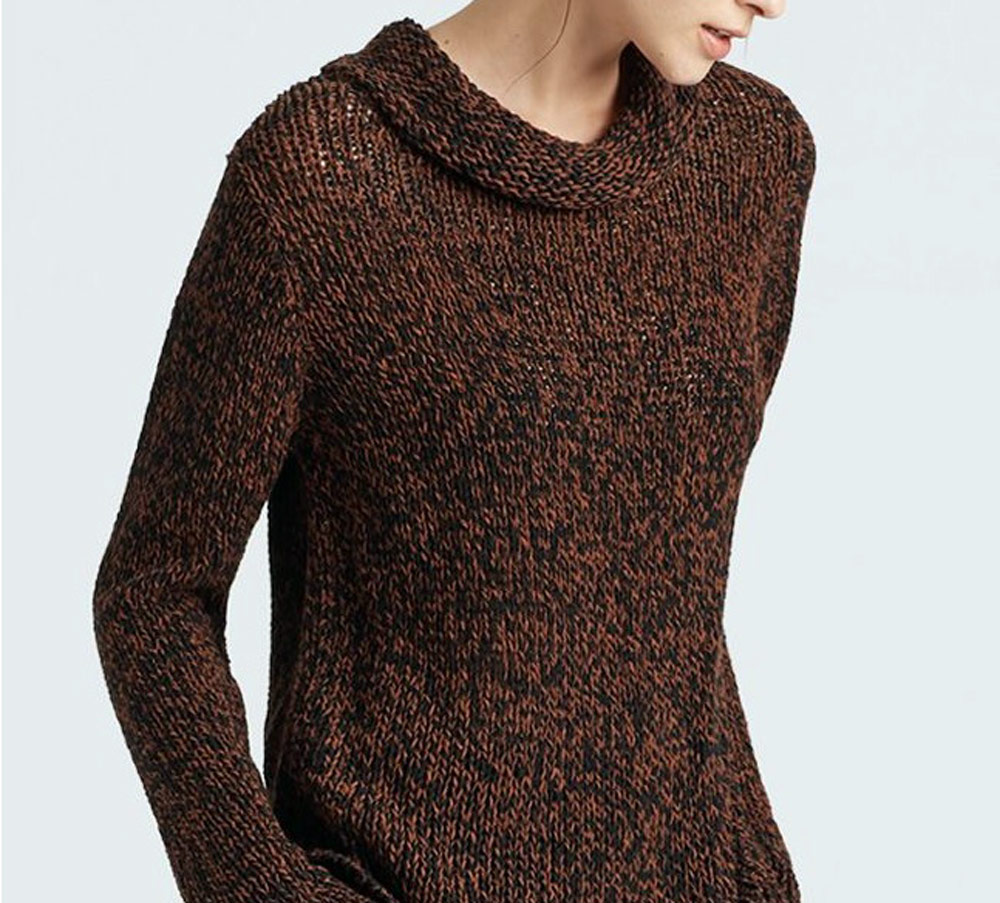 sustainable clothing collection for autumn - Eileen Fisher sweatshirt