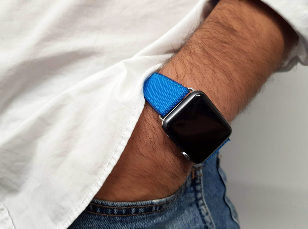 Apple Watch Straps - Meridio Electric Blue 2