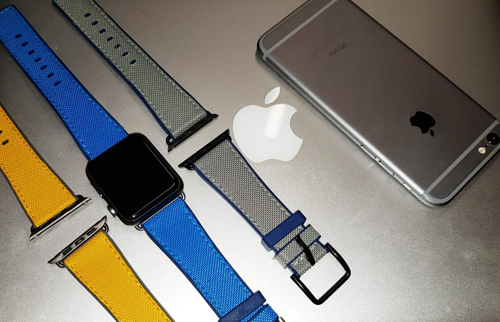 Apple Watch Straps - Meridio Straps from Natural Rubber