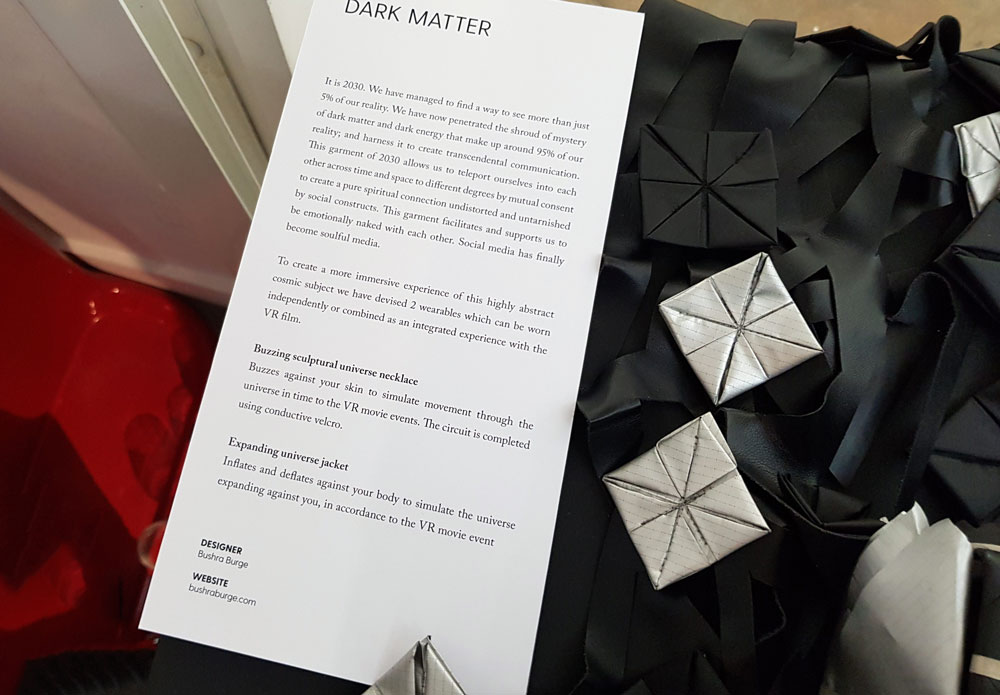 Innovative Fashion BB Studio Dark matter project