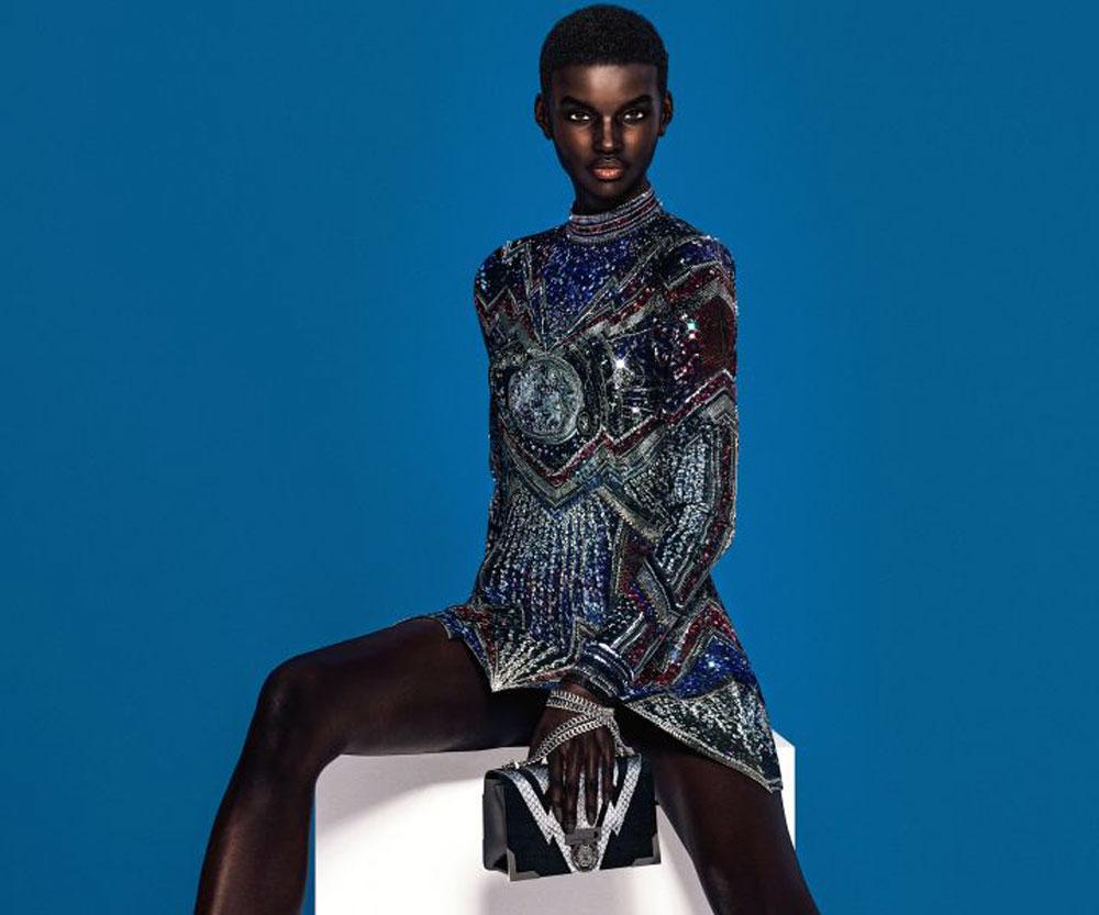 Digital Fashion Models - balmain