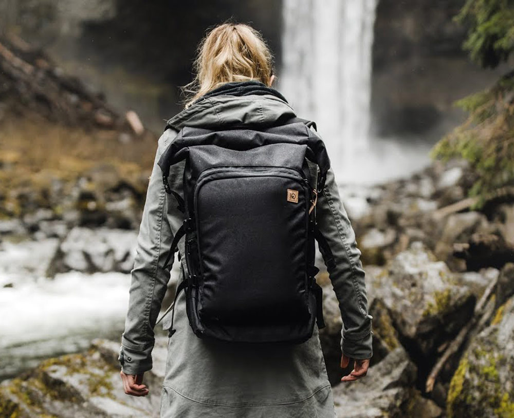 Mobius Multifunctional Backpack Made From Recycled Plastic Bottles