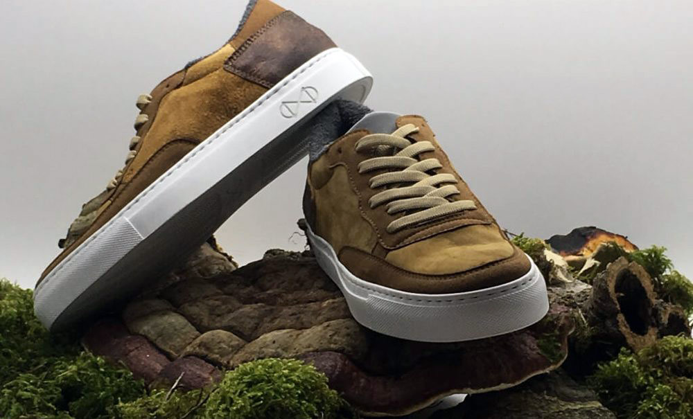 Nat-2 x Zvnder Vegan Sneaker made from mushroom leather