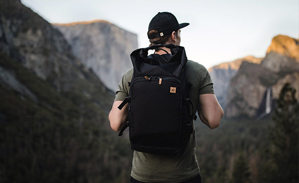 Mobius multifunctional backpack for traveling
