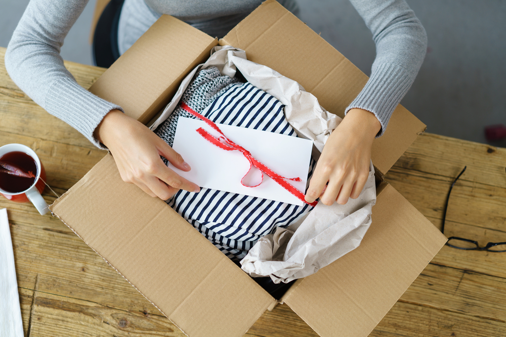 Advances In The Fashion Industry - same day delivery package