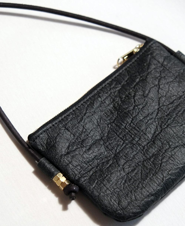 best vegan bags - Eve and Adis Pinatex Essential Bag close shot