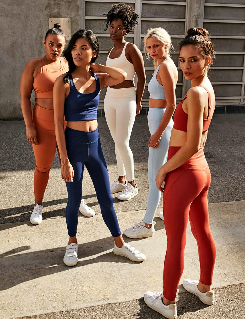 Eco-Friendly Activewear - Girlfriend Collective diverse models